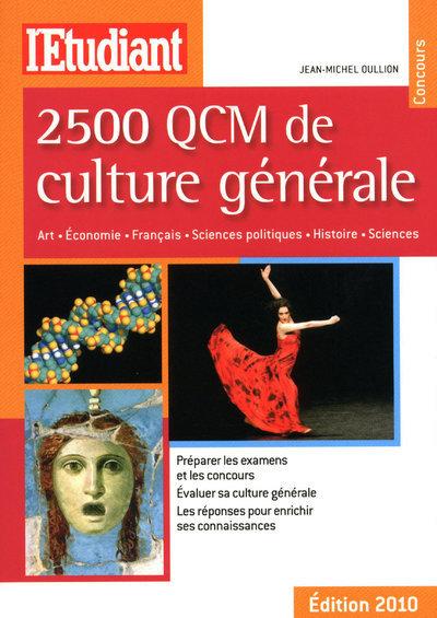 2 500 QCM DE CULTURE GENERALE 2010