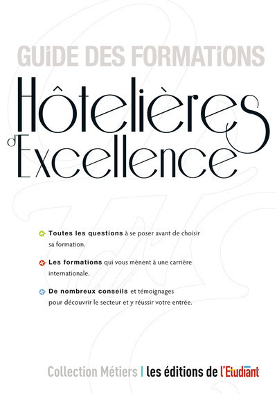 GUIDE DES FORMATIONS HOTELIERES D'EXCELLENCE