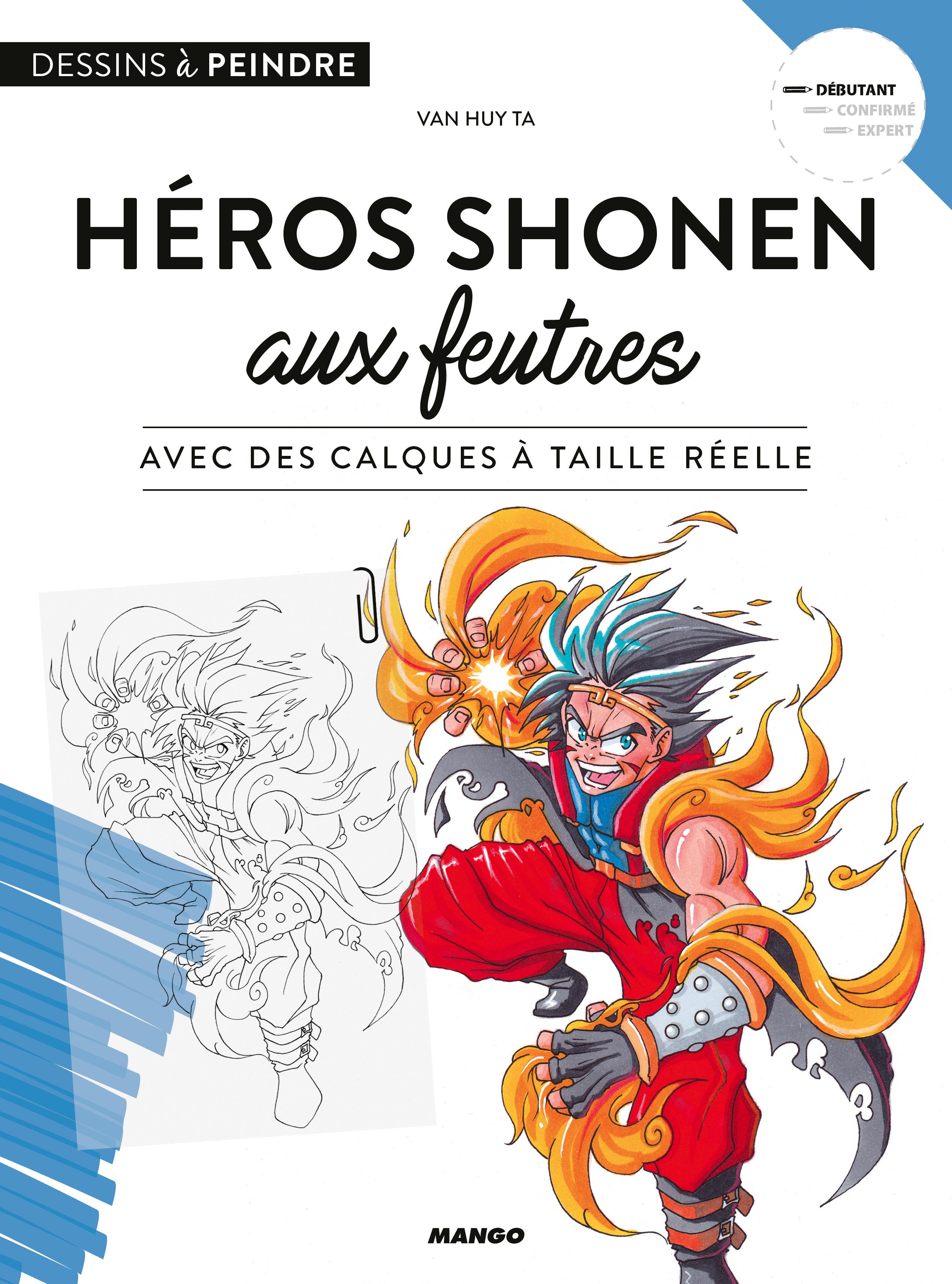 HEROS SHONEN AUX FEUTRES