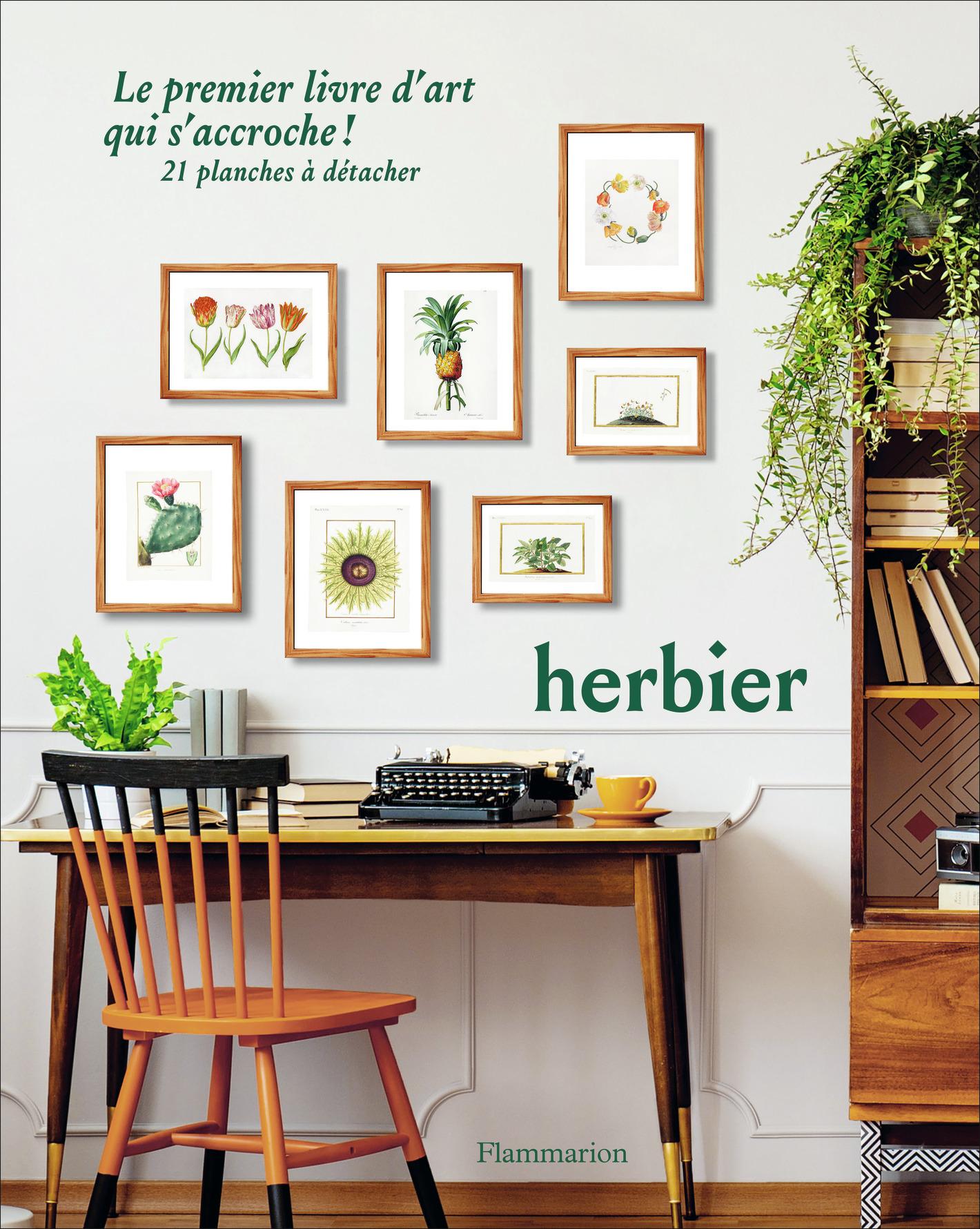 HERBIER - LE PREMIER LIVRE D'ART QUI S'ACCROCHE !