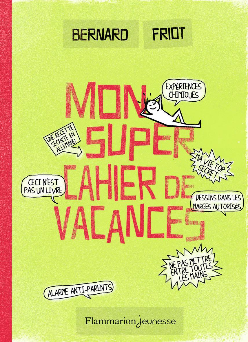 MON SUPER CAHIER DE VACANCES