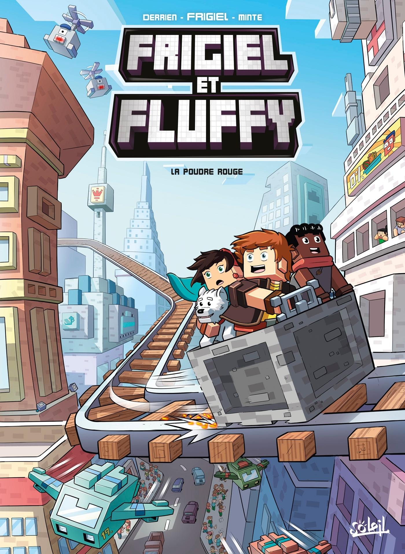 FRIGIEL ET FLUFFY T07 - LA POUDRE ROUGE
