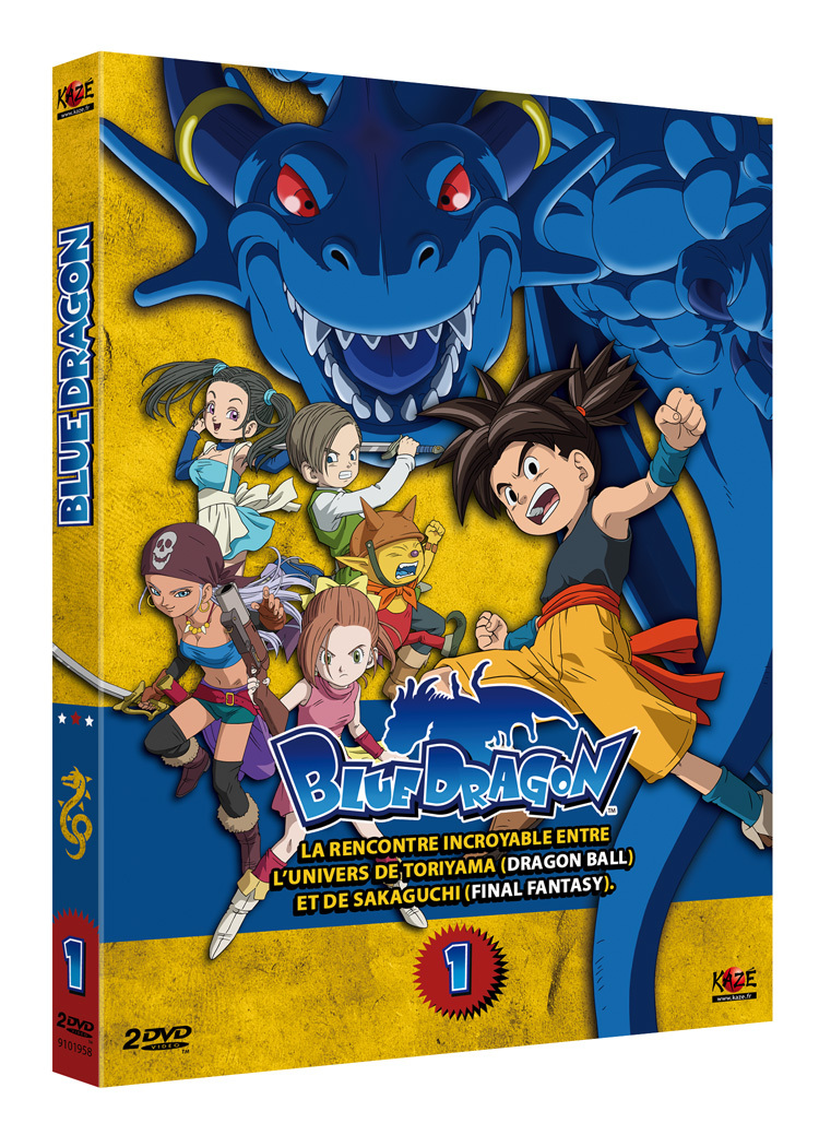 BLUE DRAGON - PARTIE 1 SUR 5 - 2 DVD