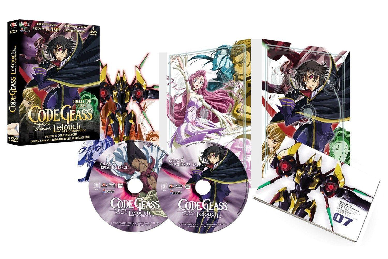 CODE GEASS - SAISON 1 - PARTIE 3 SUR 3 - 2 DVD