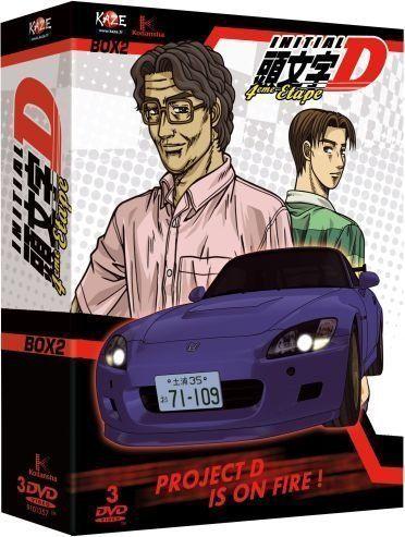 INITIAL D - 4TH STAGE - PARTIE 2 SUR 2 -3  DVD