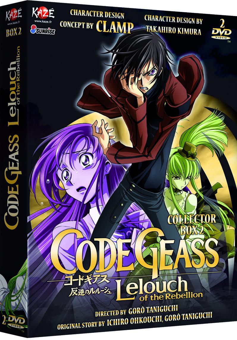 CODE GEASS - SAISON 1 - PARTIE 2 SUR 3 - 2 DVD