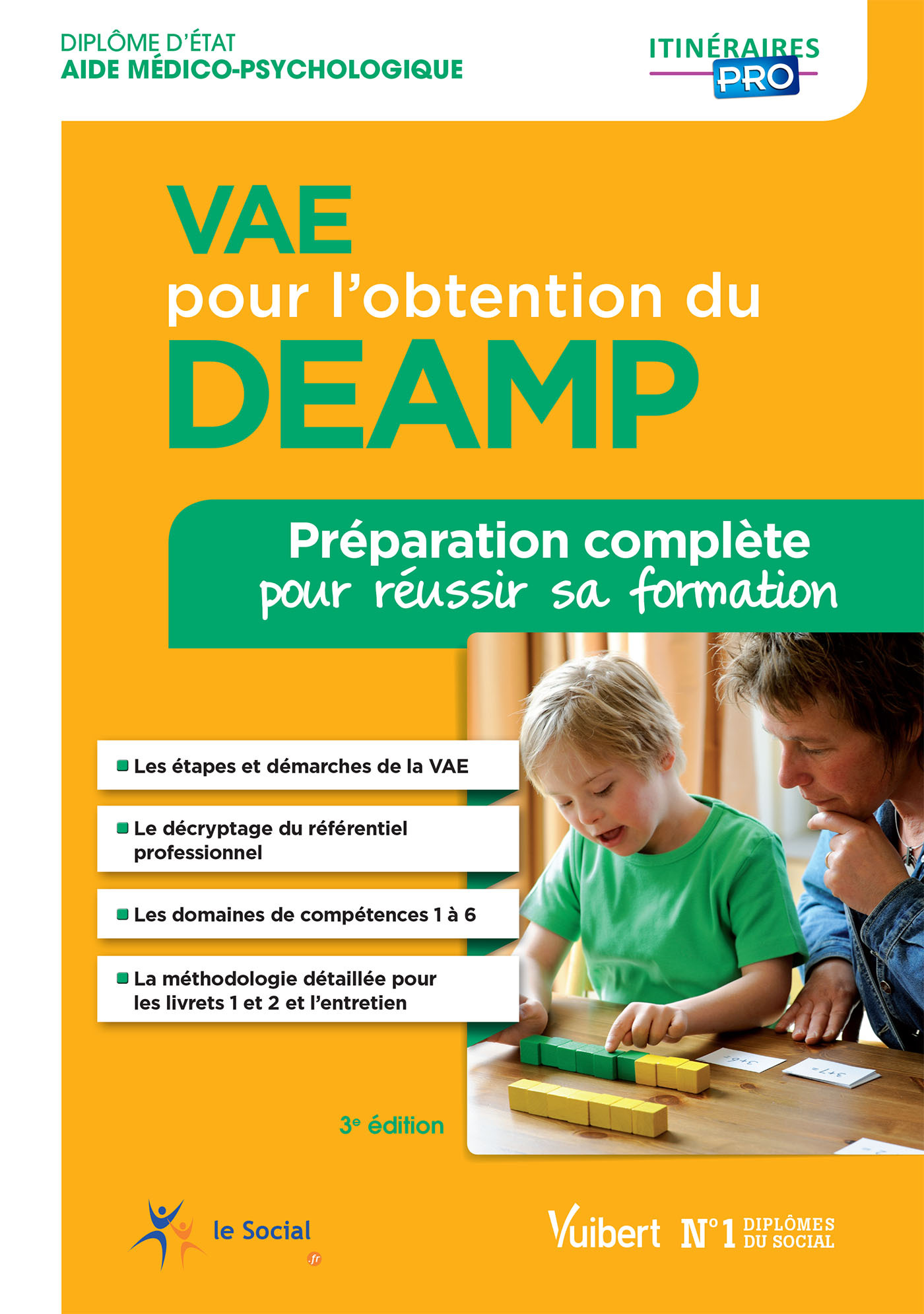 VAE POUR L'OBTENTION DU DEAMP 3E EDT