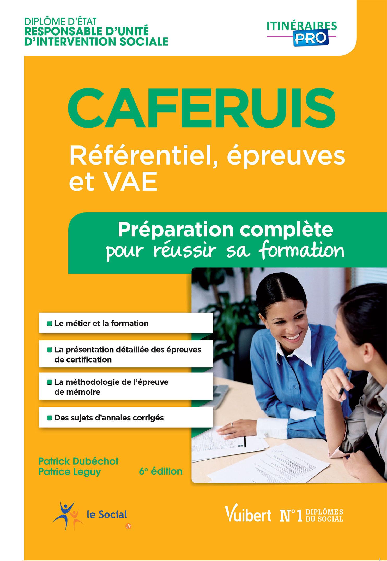 CAFERIUS PREPARATION COMPLETE POUR REUSSIR SA FORMATION 6E EDT