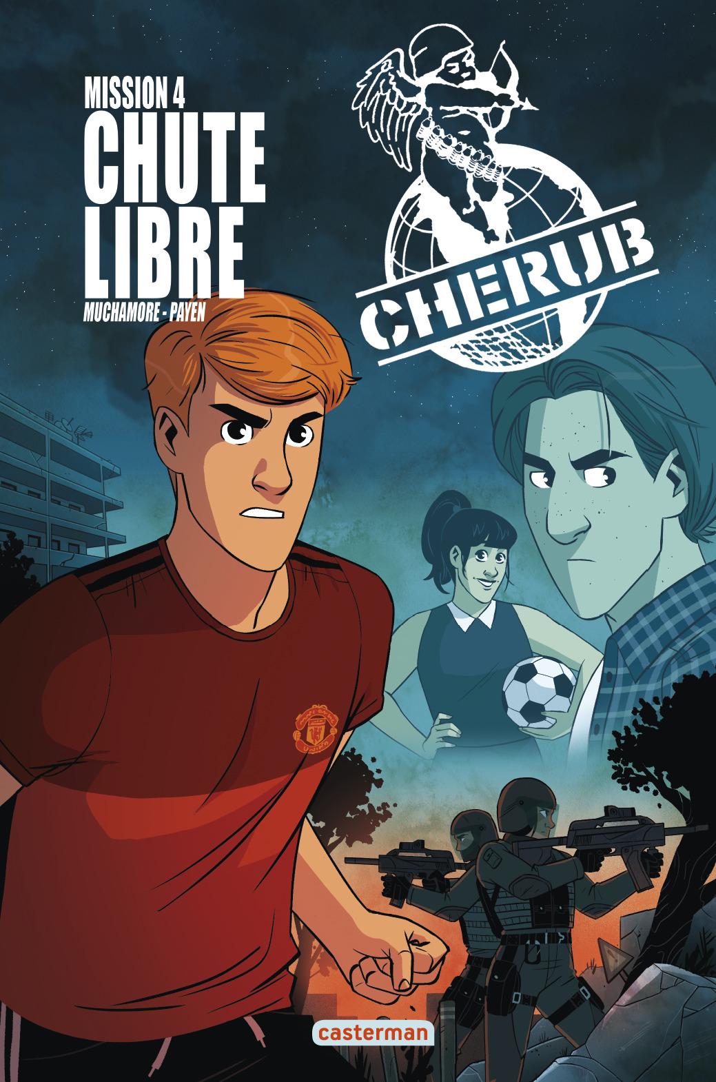 CHERUB - T04 - BD CHERUB MISSION 4 : CHUTE LIBRE