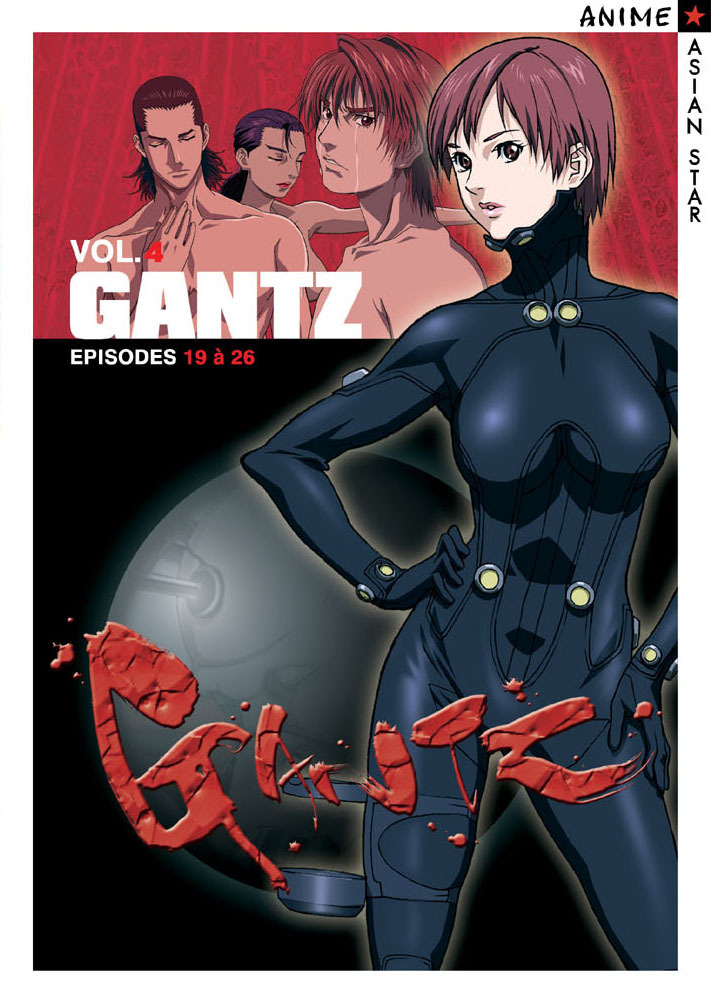 GANTZ VOL 4 - 3 DVD