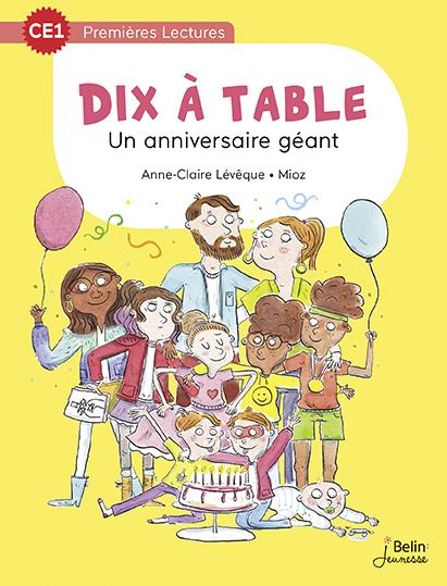 UN ANNIVERSAIRE GEANT SERIE 10 A TABLE CE1