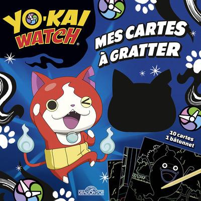 YO-KAI WATCH - MES CARTES A GRATTER - DE JIBANYAN,WHISPER ET TOUS LEURS AMIS !