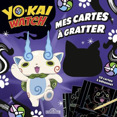 YO-KAI WATCH - MES CARTES A GRATTER - DE KOMASAN, ROBONYAN ET PLEIN D'AUTRES YO-KAI !