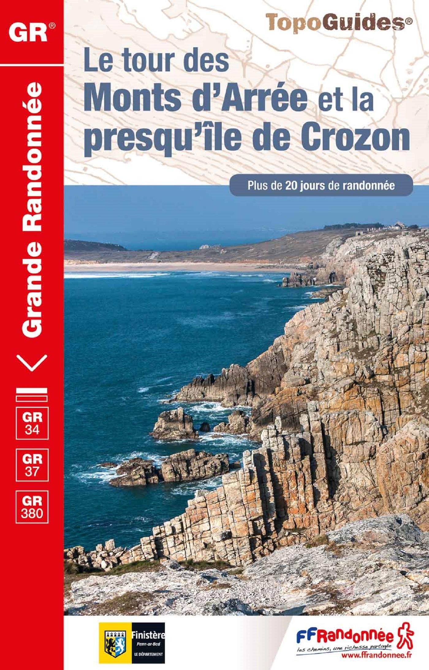 LE TOUR DES MONTS D'ARREE ET LA PRESQU'ILE DE CROZON - REF. 380