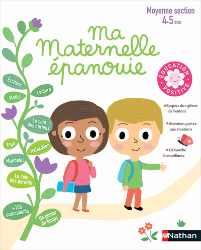 MA MATERNELLE EPANOUIE MOYENNE SECTION (4-5 ANS)