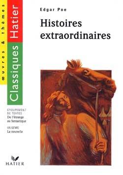 E. POE - HISTOIRES EXTRAORDINAIRES (LIVRE DE L'ELEVE)