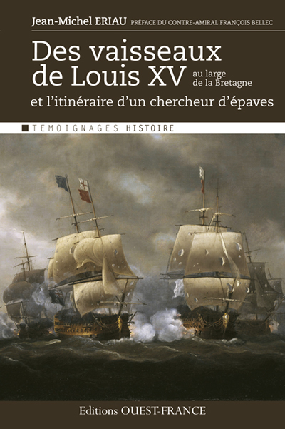 VAISSEAUX LOUIS XV AU LARGE DE LA BRETAG