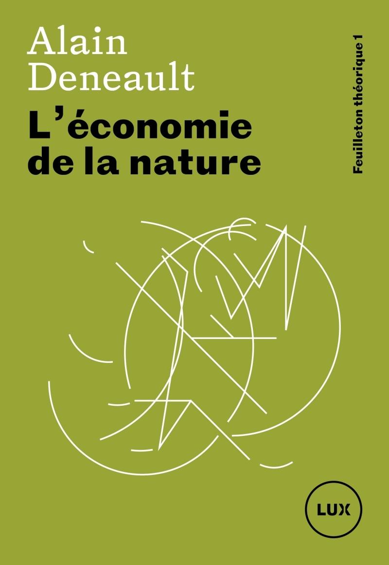 L'ECONOMIE DE LA NATURE - FEUILLETON THEORIQUE