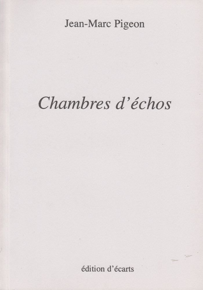 CHAMBRES D'ECHOS