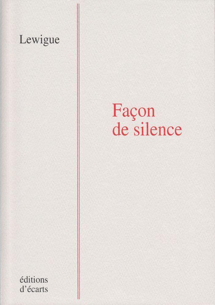 FACON DE SILENCE