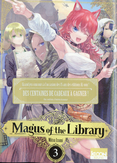 MAGUS OF THE LIBRARY T03 - VOL03
