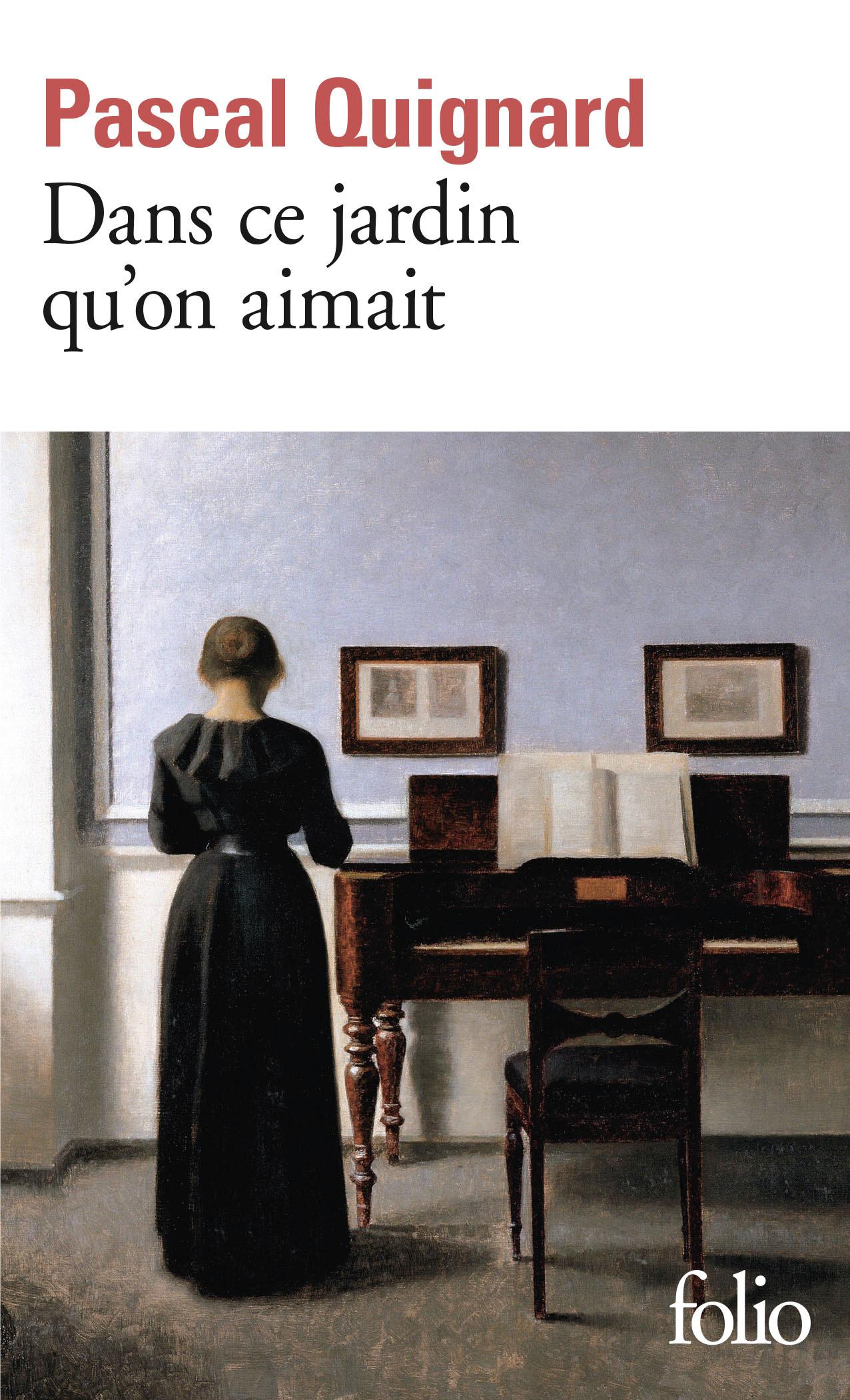 DANS CE JARDIN QU'ON AIMAIT