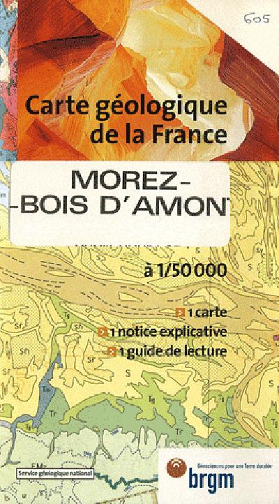 MOREZ BOIS AMONT GEOLOGIQUE 1/50 000