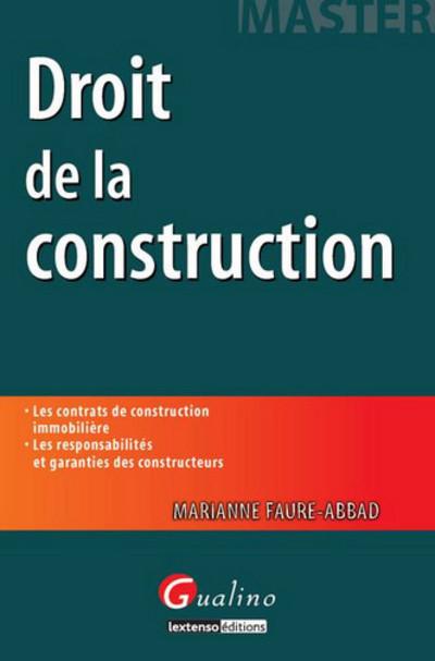 DROIT DE LA CONSTRUCTION - 2EME EDITION