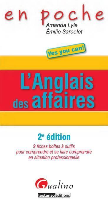 EN POCHE. L'ANGLAIS DES AFFAIRES - 2E ED.