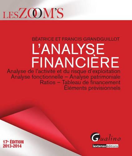 ZOOM'S ANALYSE FINANCIERE 2013-2014, 17EME EDITION