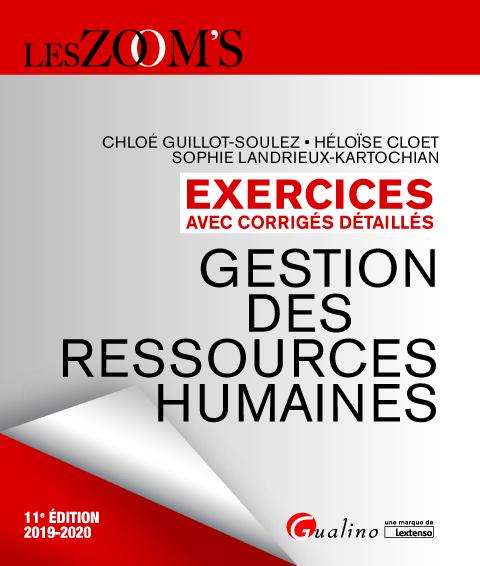EXERCICES AVEC CORRIGES DETAILLES - GESTION DES RESSOURCES HUMAINES