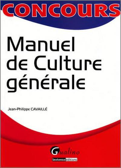 MANUEL DE CULTURE GENERALE