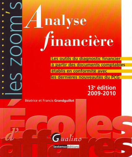 ZOOM'S ANALYSE FINANCIERE, 13 EME EDITION