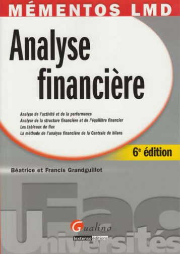 MEMENTO- ANALYSE FINANCIERE, 6 EME EDITION