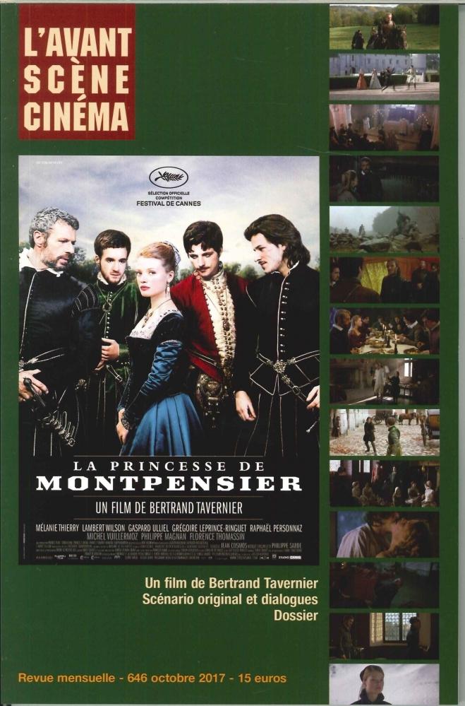 L AVANT-SCENE CINEMA N 646 LA PRINCESSE DE MONTPENSIER OCTOBRE 2017