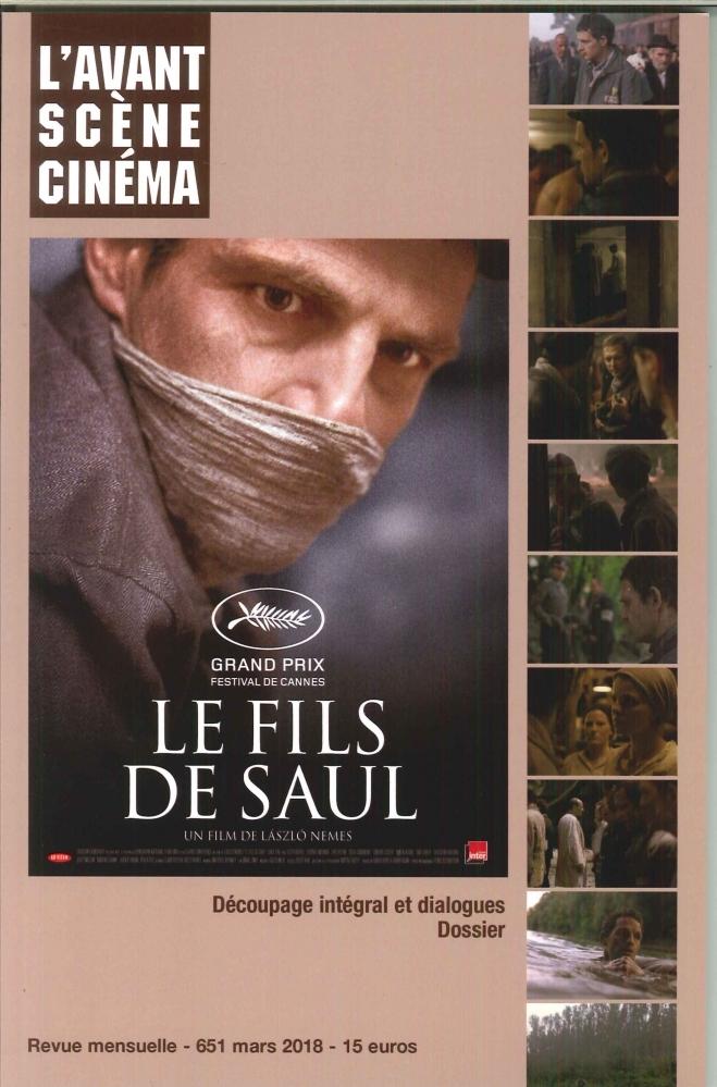L'AVANT-SCENE CINEMA N 651 LE FILS DE SAUL - MARS 2018