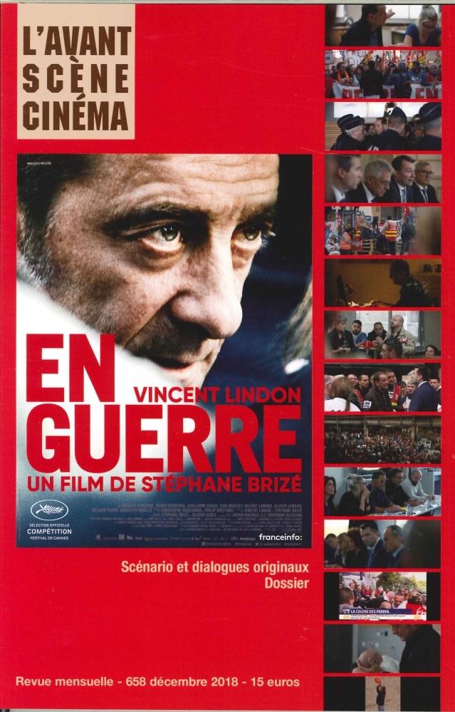 L'AVANT-SCENE CINEMA N 658 EN GUERRE - DECEMBRE 2018