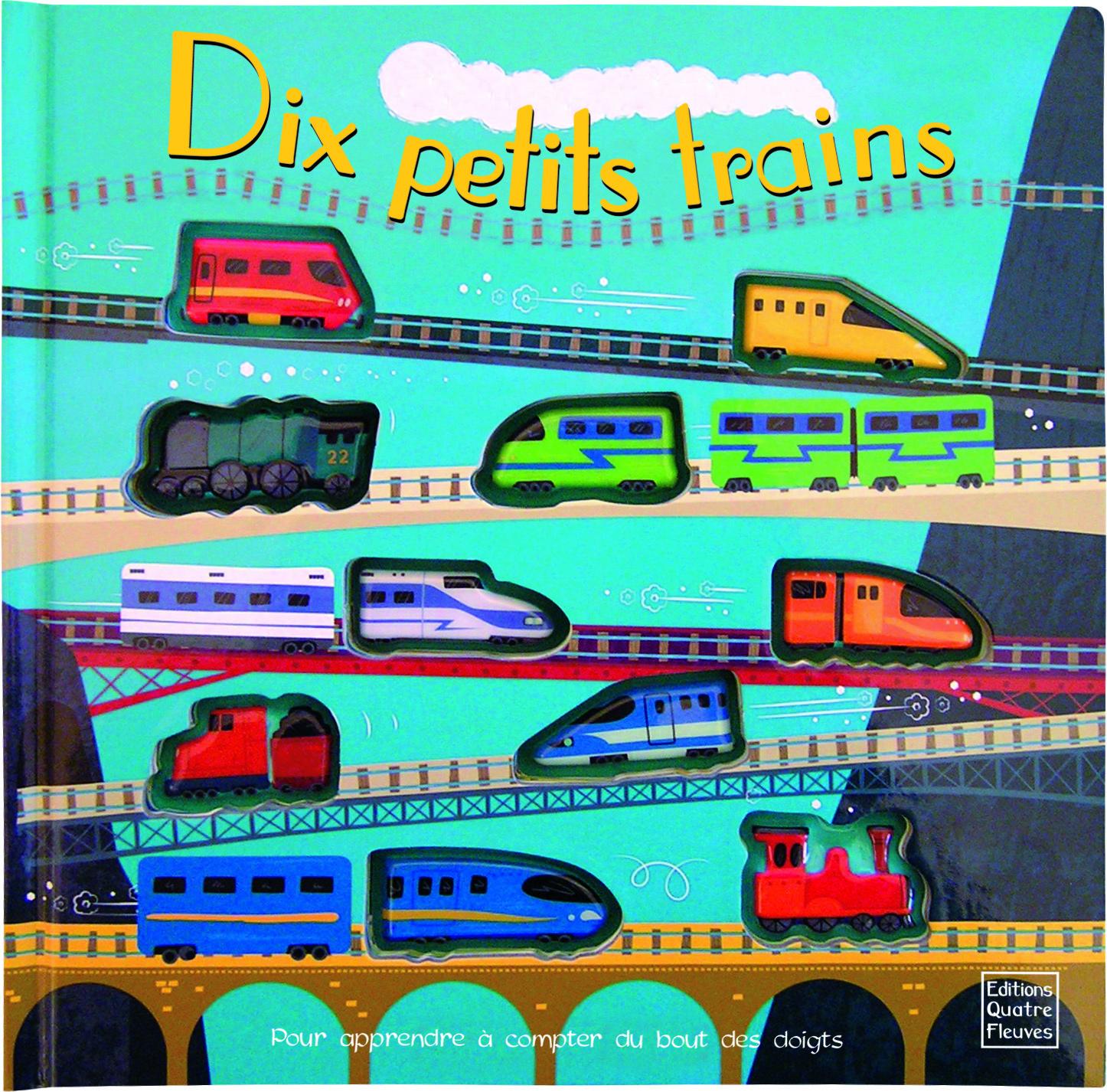 10 PETITS TRAINS