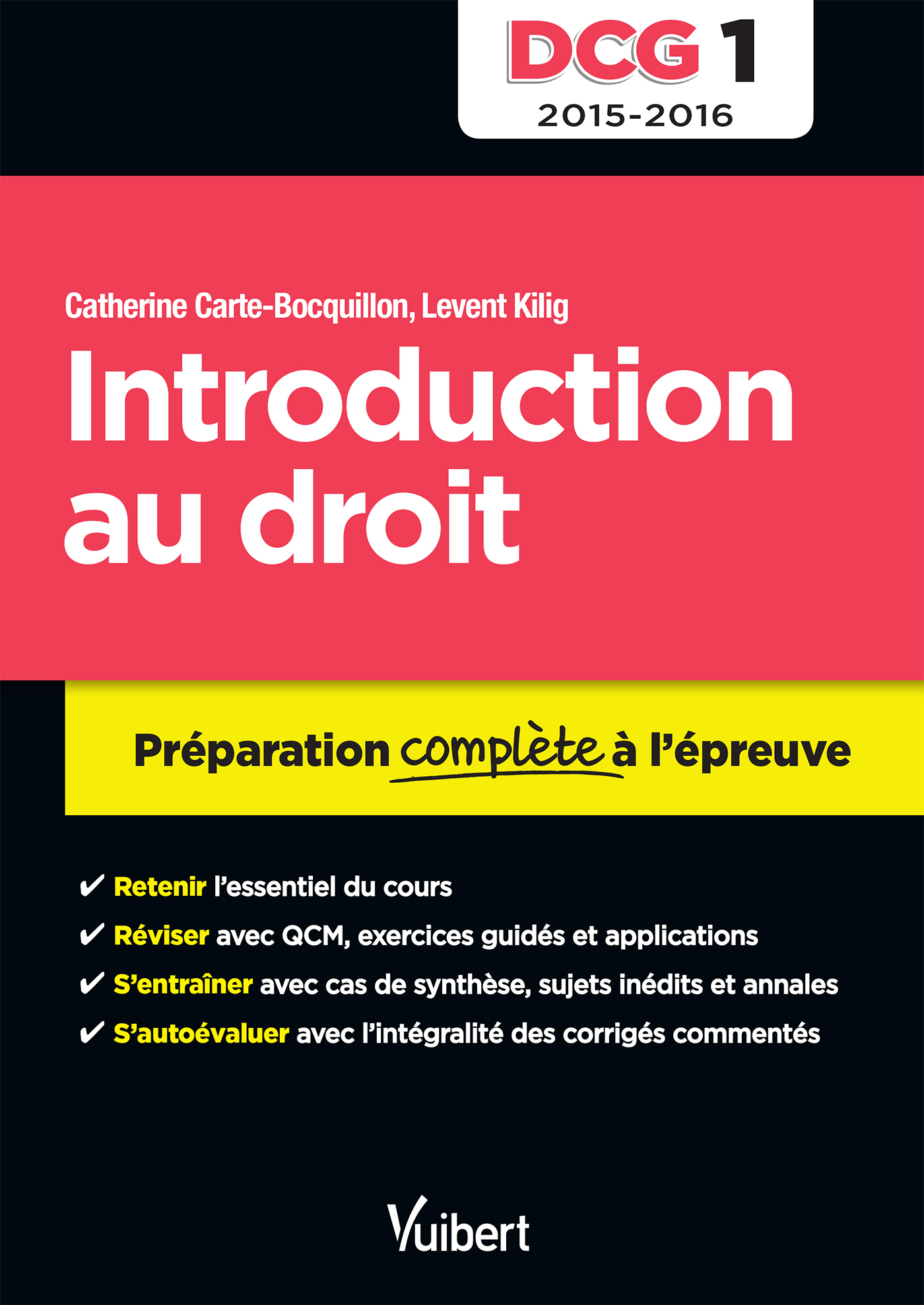 DCG 1 INTRODUCTION AU DROIT