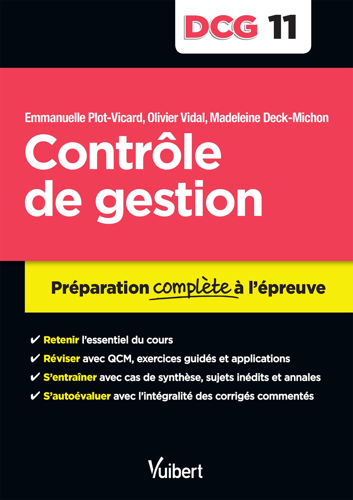 DCG 11 CONTROLE DE GESTION