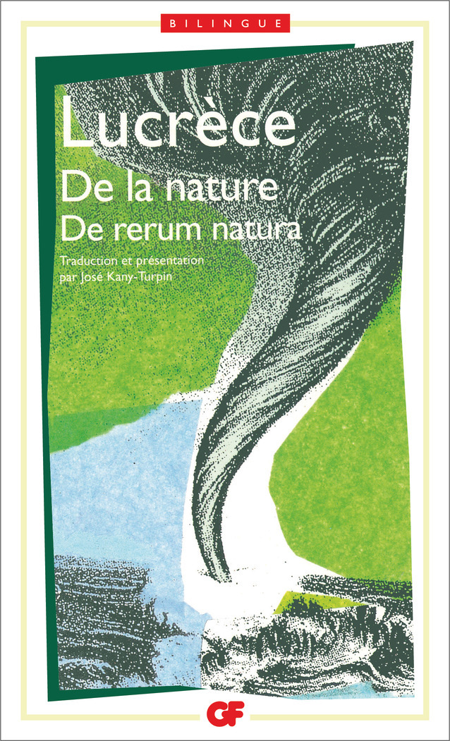 DE LA NATURE - RE RERUM NATURA