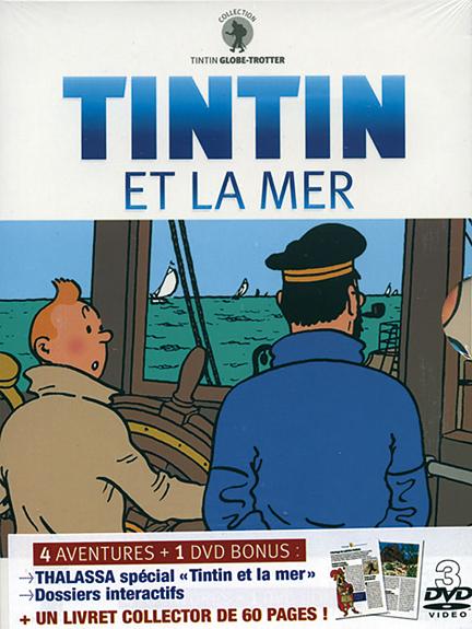 TINTIN ET LA MER - DIGIPACK 3 DVD