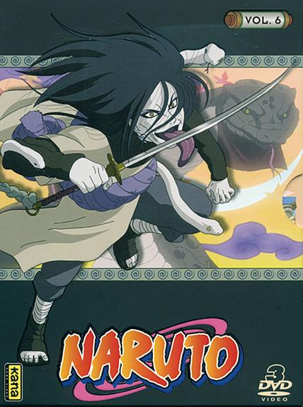 NARUTO V6 - 3 DVD