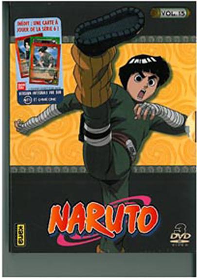 NARUTO - VOL 15 - COFFRET 3 DVD