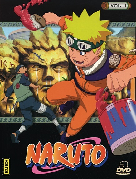 NARUTO V1 - 3 DVD