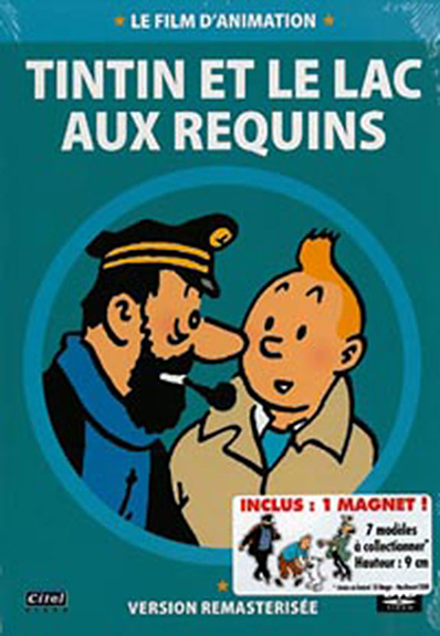 TINTIN - LE LAC AUX REQUINS - VERSION REMASTERISEE