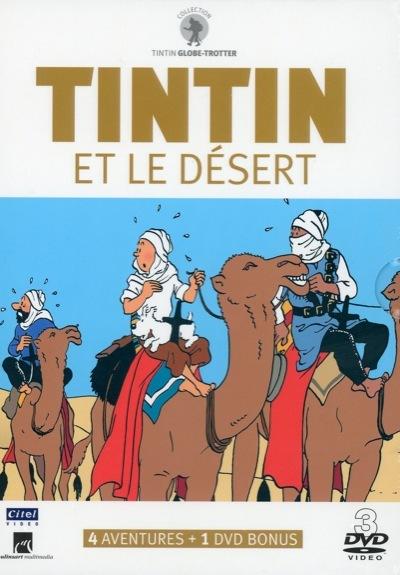 TINTIN ET LE DESERT