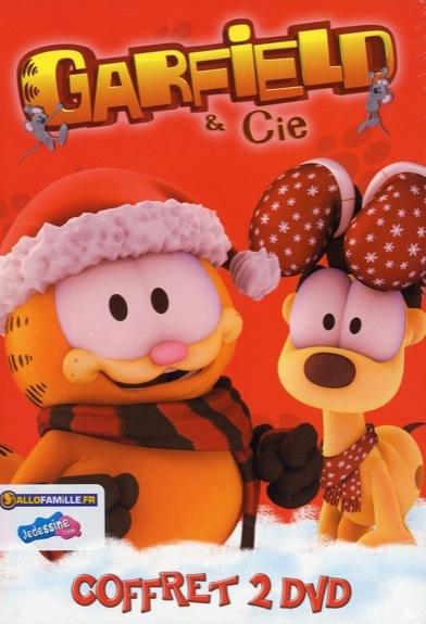 GARFIELD & CIE - CHAT PLANE POUR MOI & CHALEUR DU FOYER - COFFRET 2 DVD