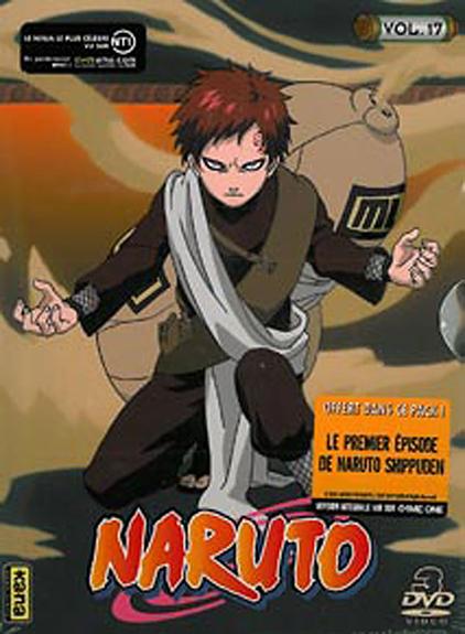 NARUTO - VOL 17 - COFFRET 3 DVD