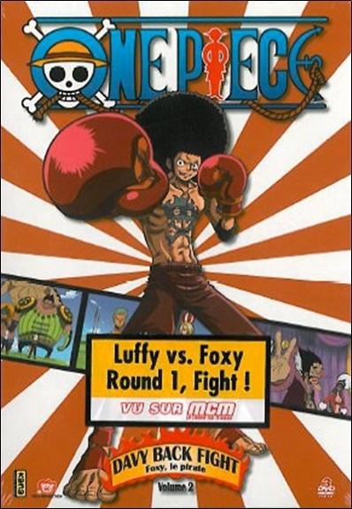 DVD ONE PIECE : DAVY BACK FIGHT V2 - COFFRET 3 DVD